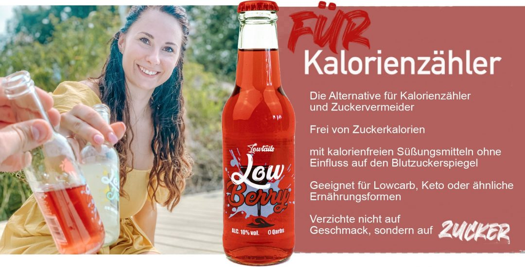 Übersicht Tabelle Lowberry lowcarb alkohol lowtails